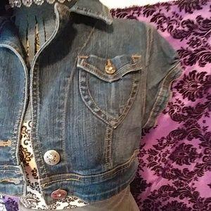 goodtime Jackets & Coats - Shrug jean jacket size L